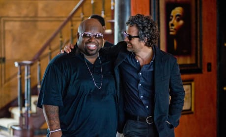Begin Again Cee-Lo Green Mark Ruffalo
