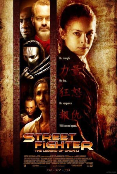 Street Fighter: The Legend of Chun Li Poster