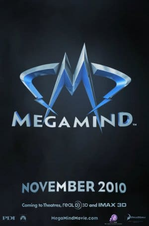 Megamind Teaser Poster