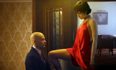 Agent 47 and Nika