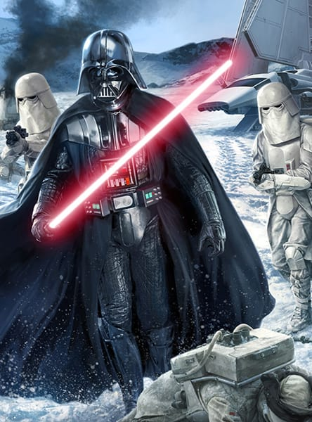 Star Wars Poster: The Dark Lord Invades