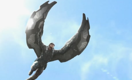 Captain America 2: The Winter Soldier Falcon Concept Art