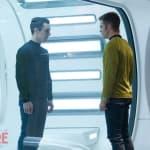 Benedict Cumberbatch Chris Pine Star Trek Into Darkness