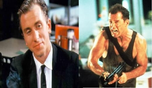 Reservoir Dogs Die Hard Collage