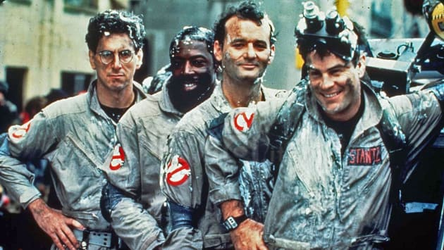 Ghostbusters Cast Photo