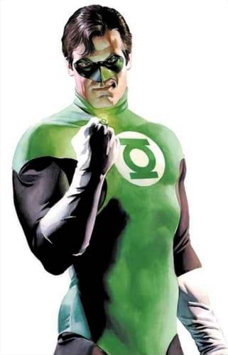 The Green Lantern comic image