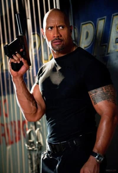 Dwayne Johnson in G.I. Joe Retaliation