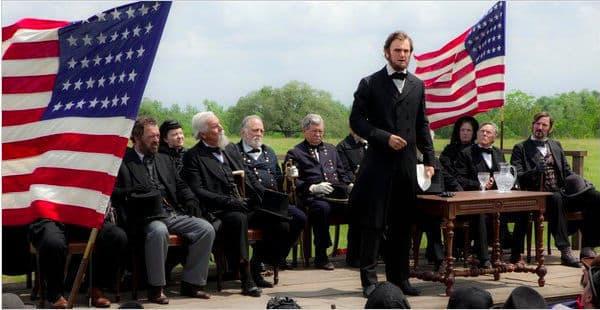 Benjamin Walker in a First Look at Abraham Lincoln: Vampire Hunter
