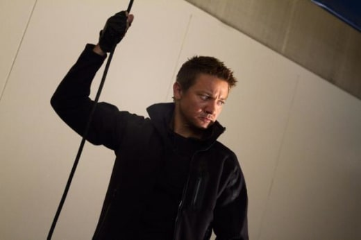 Hawkeye is Jeremy Renner
