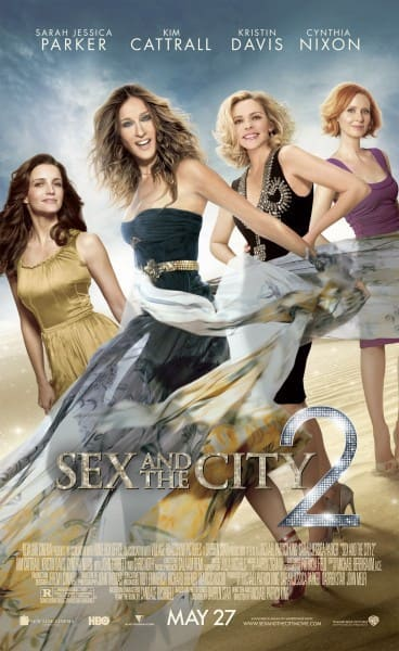 Sex and the City 2 Theatrical Poster