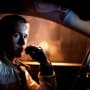 Ryan Gosling drives in Drive