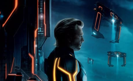 Jeff Bridges Gets a Facelift on the New Tron Legacy Poster