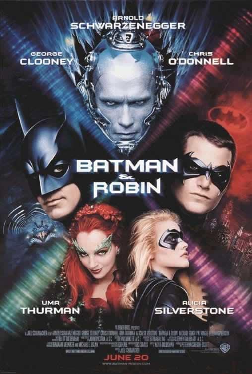 Batman and Robin Poster