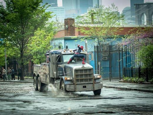 The Amazing Spider-Man 2 Rhino Truck
