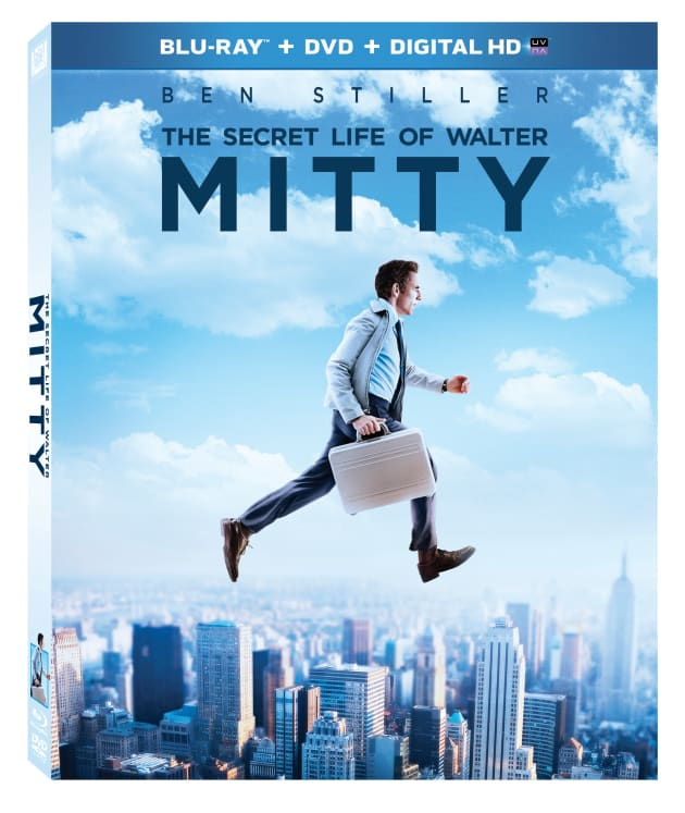 The Secret Life of Walter Mitty Blu-Ray