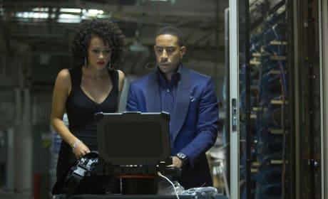 Furious 7 Nathalie Emmanuel Ludacris