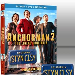 Anchorman 2 StayinClassy Blu-Ray