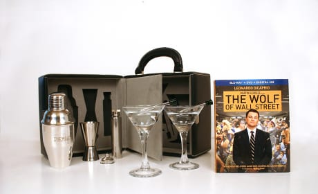 The Wolf of Wall Street Martini Set