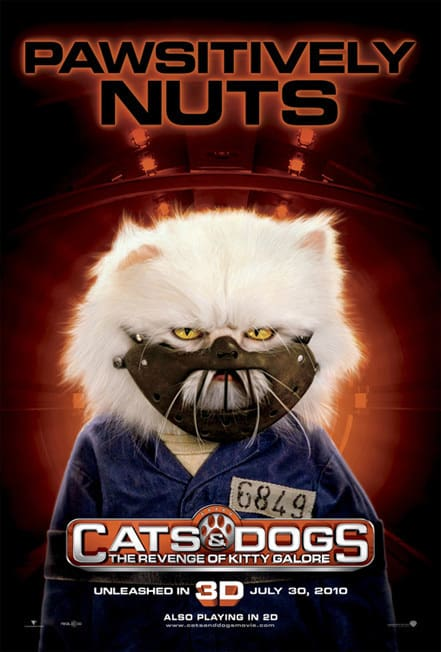 Cats and Dogs Pawsitively Nuts Poster