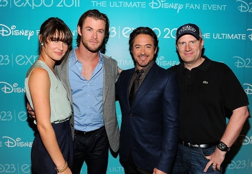 The Avengers Cast at D23