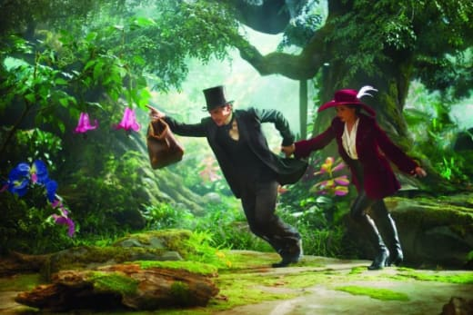 James Franco Mila Kunis Oz: The Great and Powerful