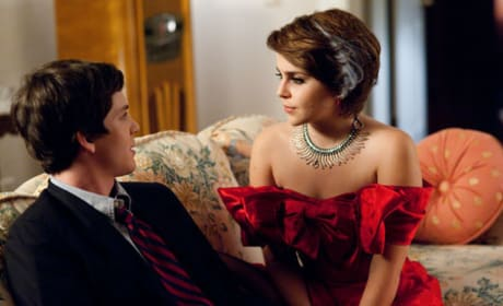 Logan Lerman and Emma Watson The Perks of Being a Wallflower