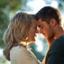 Zac Efron and Taylor Schilling in The Lucky One