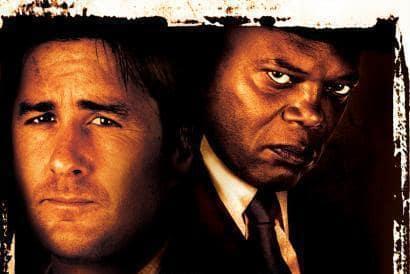 Samuel L. Jackson and Luke Wilson in Meeting Evil