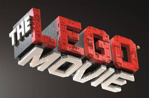 The LEGO Movie Title Banner