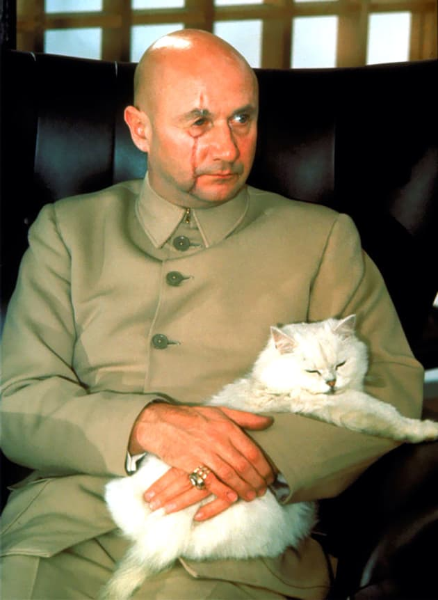 You Only Live Twice Donald Pleasence
