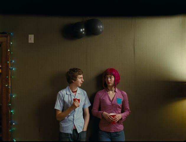 Scott and Ramona Under Some... Balls?