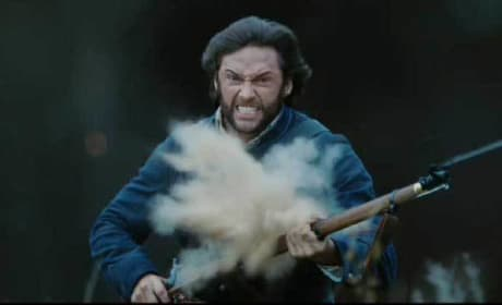 Wolverine in Battle