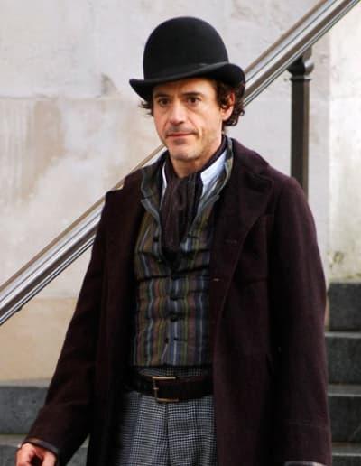 Downey as Sherlock Holmes