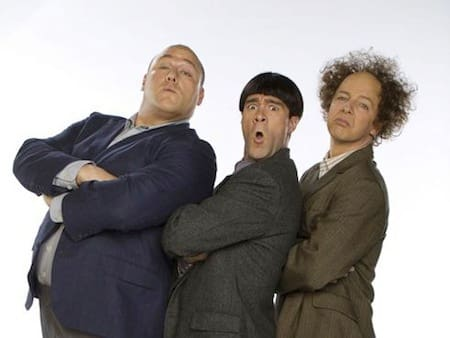 The Three Stooges First Photo