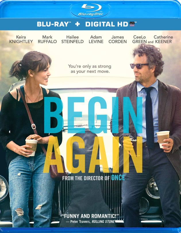 Begin Again DVD