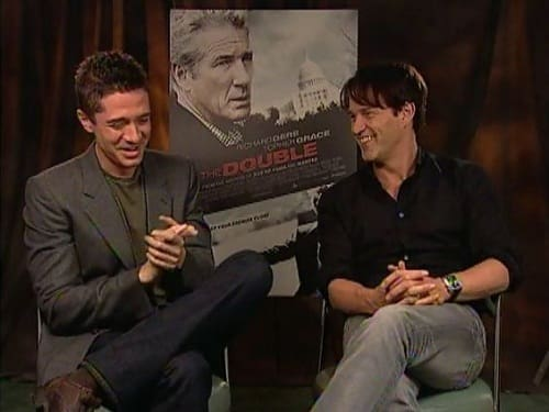 Stephen Moyer and Topher Grace Picture