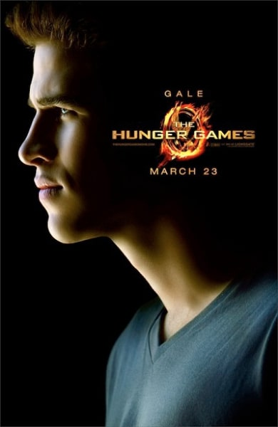 The Hunger Games: Gale Character Poster