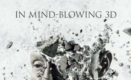 Tobin Bell's Head Explodes on New Saw 3D Poster!