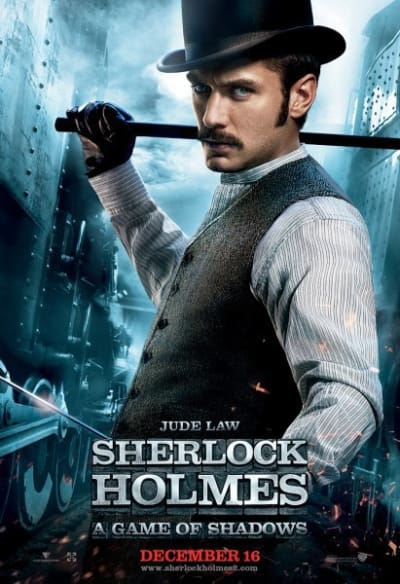 Jude Law in Sherlock Holmes: A Game of Shadows