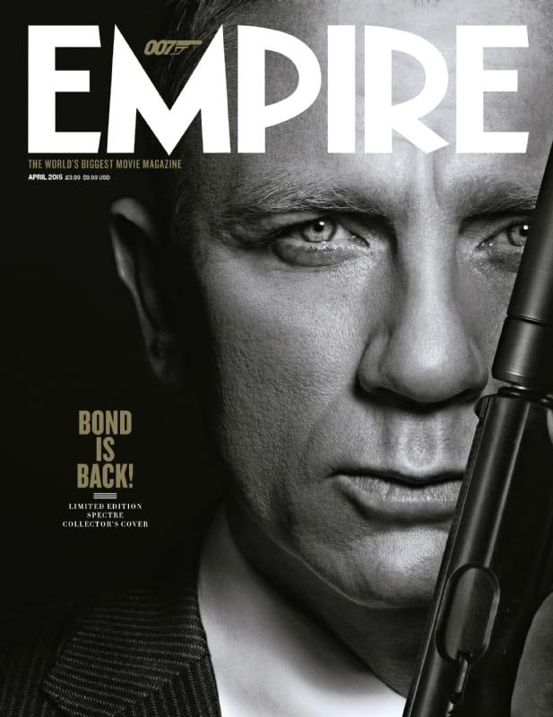Empire Spectre James Bond Cover