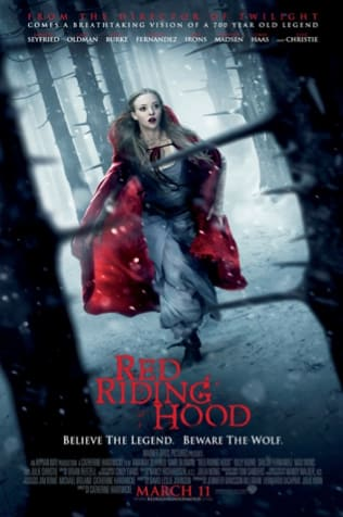 Red Riding Hood Official Poster