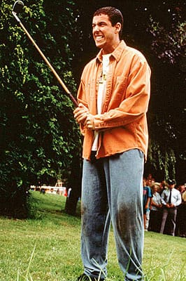 Frustrated Happy Gilmore