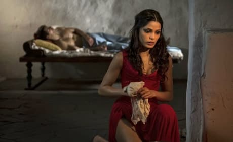Freida Pinto in The Immortals