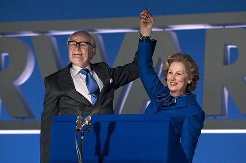 Meryl Streep and Jim Broadbent in The Iron Lady