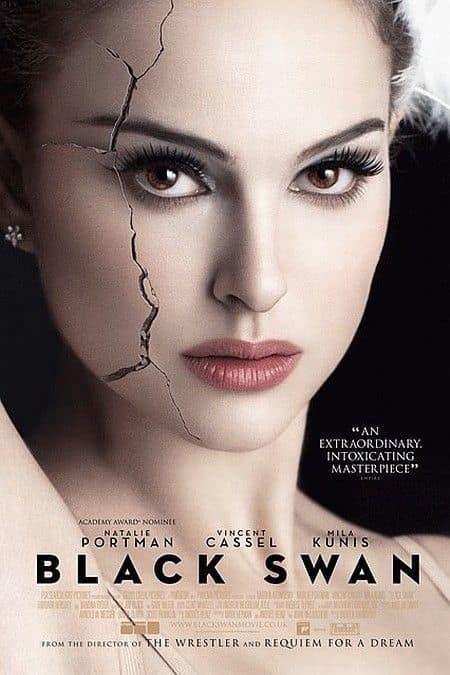 Black Swan Crack Poster