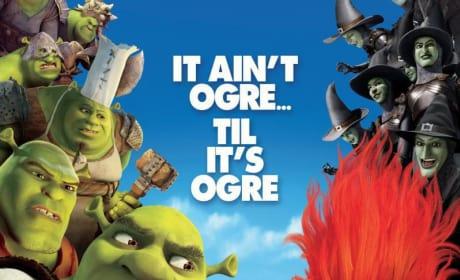 It's Ogres Vs. Rumpelstiltskin on New Shrek Forever After Poster