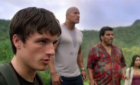 Josh Hutcherson in Journey 2: The Mysterious Island