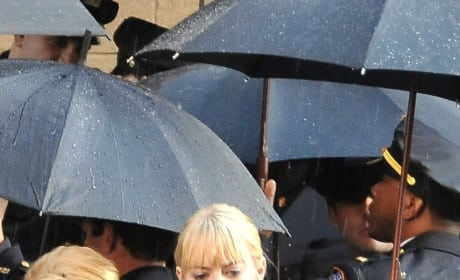 First Photos of Emma Stone as Gwen Stacy on the Set of Marc Webb's Spider-Man Reboot!