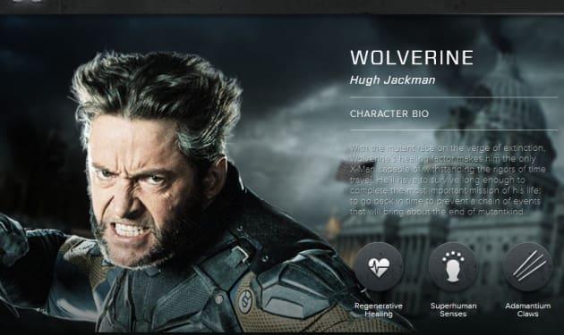X-Men Days of Future Past Wolverine Bio Banner
