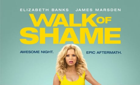 Walk of Shame Poster: Elizabeth Banks Not Mellow in Yellow
